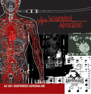 AZ001- Suspended Adrenaline Cover Art