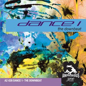 AZ028 Dance 1 - The Downbeat Cover Art