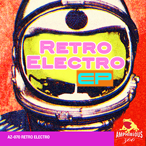 AZ070- Electro Retro Cover Art